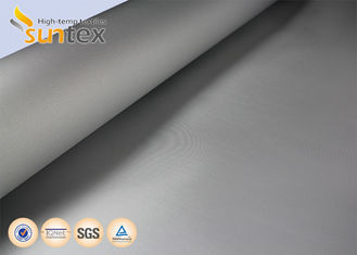 0.4mm PU Coated Fiberglass Fabric For Fire Curtain And Smoke Curtains