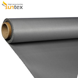 Heat Resistance 550C 17oz Silicone Coated Fiberglass Fabric